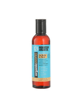 Natural World Argan Oil Of Morroco Face & Body Oil 200ml by Natural World