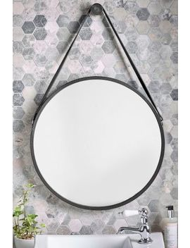Faux Leather Strap Mirror by Next