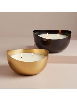 Rove Metal Candles by West Elm