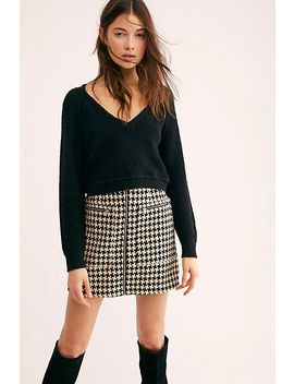 High Low V Sweater by Free People