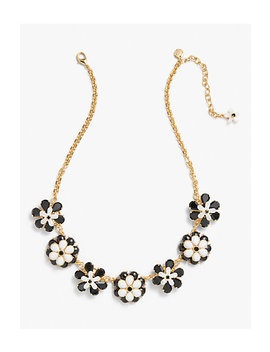 Black & White Statement Necklace by Talbots