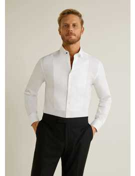 Slim Fit Bib Tailored Shirt by Mango