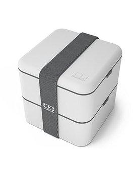 Mb Square Coton   La Caja Bento Cuadrada by Monbento