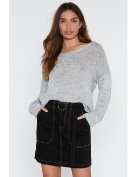 It's Knit Over Relaxed Sweater by Nasty Gal