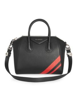 Leather Stripe Antigona Bag by Givenchy