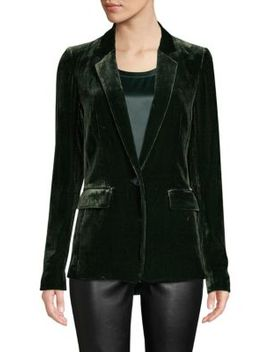 Lyndon Velvet Blazer by Lafayette 148 New York