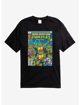 Teenage Mutant Ninja Turtles Comic Book Collectors T Shirt by Hot Topic