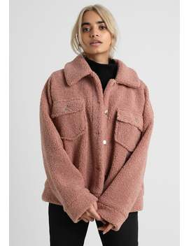 Borg Trucker Update   Light Jacket by Missguided Petite