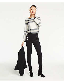 The Petite Sailor Chelsea Skinny Pants by Ann Taylor