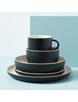Kaloh Mugs (Set Of 4)   Black by West Elm