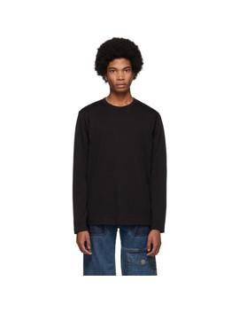 Black Forever Long Sleeve T Shirt by Comme Des GarÇons Shirt
