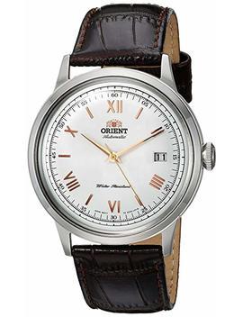 Orient Herren Analog Automatik Uhr Mit Leder Armband Fac00008 W0 by