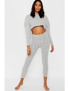 Bardot Knit Lounge Set by Boohoo