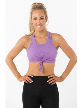 Macy Mesh Knotted Crop by Toned By Ashy Bines