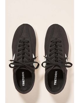 Tretorn Black Nylite Sneakers by Tretorn
