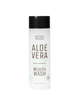 Aloe Vera Charcoal Mouthwash 250ml by Pro Teeth Whitening Co.
