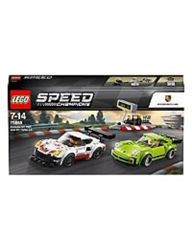 Lego Speed Champions   75888   Porsche 911 Rsr And 911 Turbo 3.0 by Asda