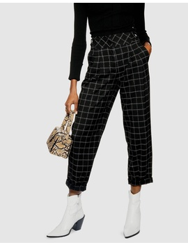 Deep Waistband Trousers by Topshop