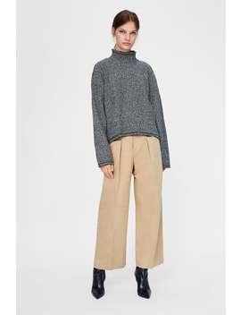 Sweatshirt Com Estrutura Bicolor  Sweatshirtmulher Saldos by Zara