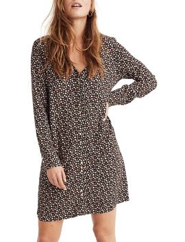 Button Front Mini Dress by Madewell