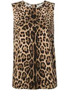 Leopard Print Top by Dolce & Gabbana