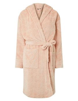 Breast Cancer Care Blush Butterfly Clipped Robe by Dorothy Perkins