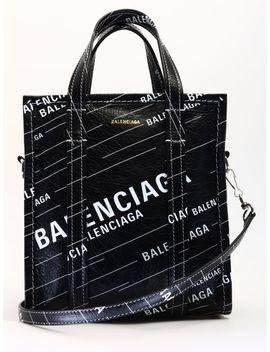 Balenciaga Shopper Bazar Xs Black by Balenciaga