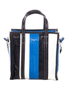 Balenciaga Bazar Small Bag In Arena Leather by Balenciaga