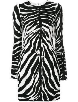 Vestido Tubinho Com Estampa Zebra by Dolce & Gabbana