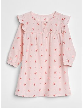 Big Dreams Ruffle Pj Dress by Gap