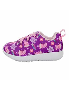 Peppa Pig Girls Printed Thick Sole Sneakers (See More Sizes) by Peppa Pig