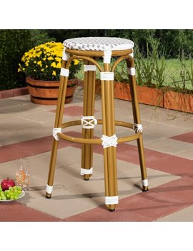 Indoor And Outdoor Stackable Bar Stool By Baxton Studio by Baxton Studio