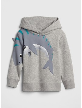 Interactive Graphic Hoodie Sweatshirt by Gap