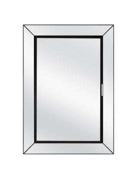 23 1/2 In. W X 33 1/2 In. H Fog Free Framed Recessed Or Surface Mount Mirror On Mirror Bath Medicine Cabinet In Black by Home Decorators Collection