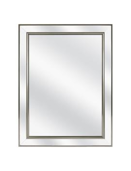 20 In. W X 26 In. H Fog Free Framed Recessed Or Surface Mount Mirror On Mirror Bathroom Medicine Cabinet by Home Decorators Collection