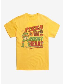 Teenage Mutant Ninja Turtles Pizza Is The Way T Shirt by Hot Topic