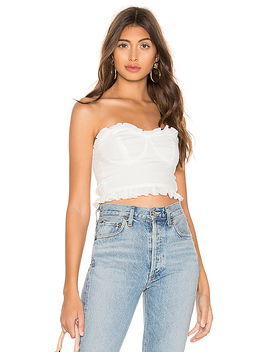 Laney Bustier Crop Top by Superdown