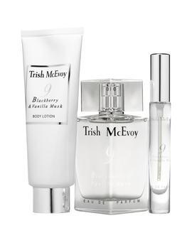 No. 9 Blackberry & Vanilla Musk Fragrance Trio by Trish Mcevoy