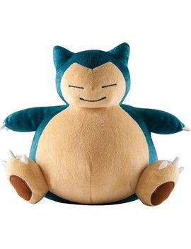 "Pokemon Snorlax 10"" Plush by Tomy"