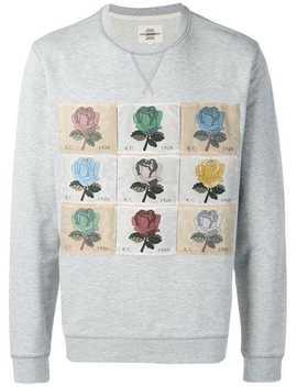 Patchwork Rose Sweatshirt by Kent & Curwen
