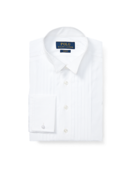 Cotton Wing Collar Dress Shirt by Ralph Lauren