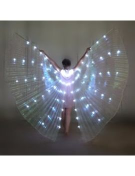 Led Dress Belly Dance Led Isis Wings Egyptian Club Light Up Show Ali Led Wings by Ebay Seller