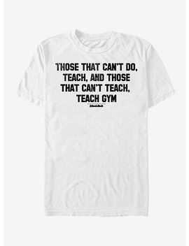 School Of Rock Teach Gym T Shirt by Hot Topic