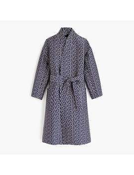 Collection Jacquard Wrap Coat by J.Crew