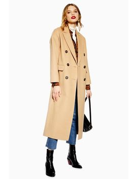 Petite Slouch Coat by Topshop