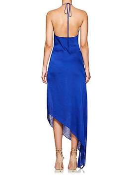 Washed Satin Backless Gown by Juan Carlos Obando