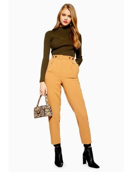 Button Peg Trousers by Topshop