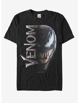 Marvel Venom Film Split Portrait T Shirt by Hot Topic