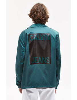 Calvin Klein Coach Jacket by Pacsun