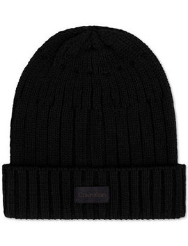 Men's Cuffed Beanie by Calvin Klein